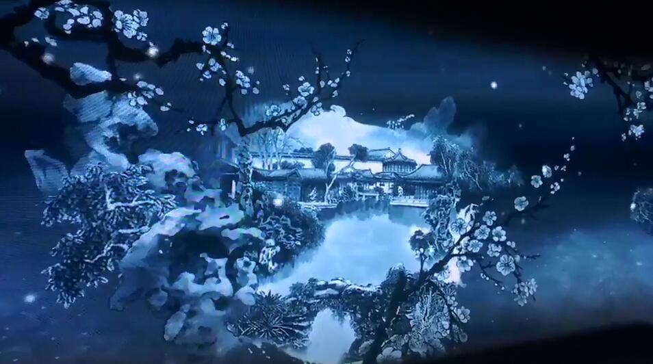 苏州园林沉浸式投影